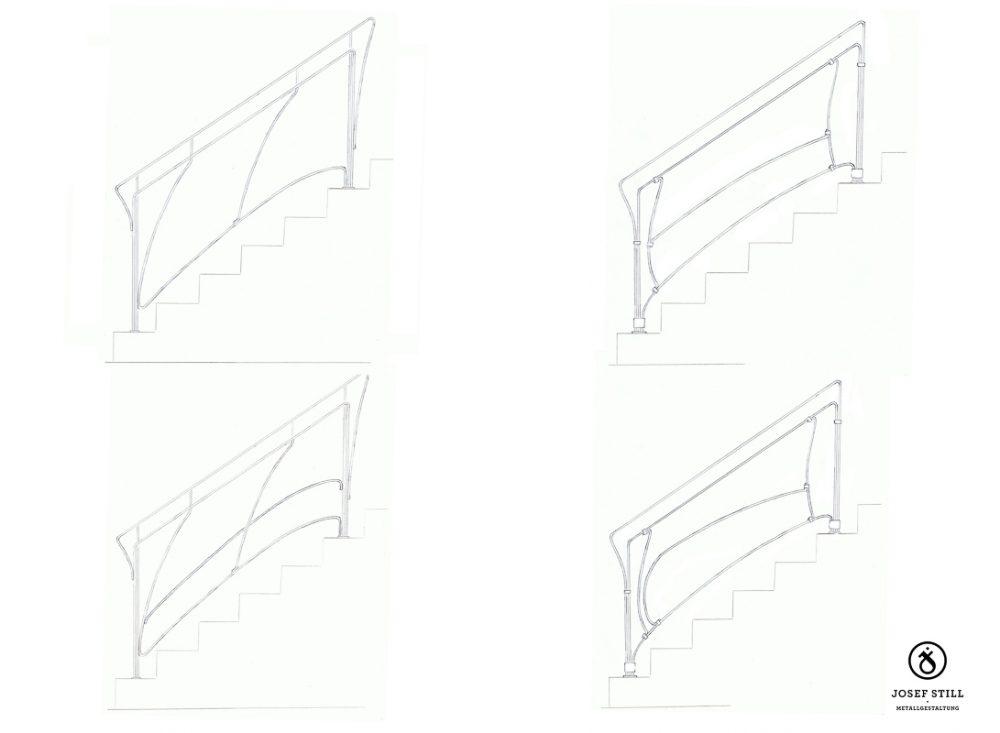 01_Skizze_Entwurf_Zeichnung_Kunstschmiede_Eisen