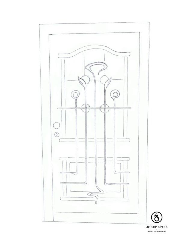 06_Skizze_Entwurf_Zeichnung_Kunstschmiede_Eisen