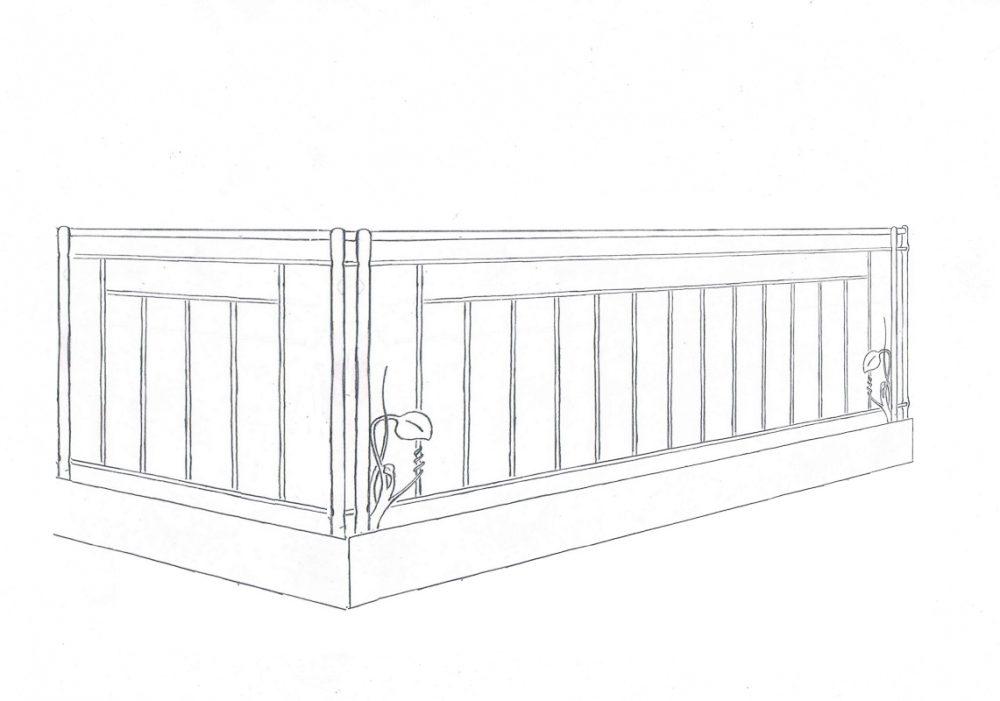 102_Skizze_Entwurf_Zeichnung_Kunstschmiede_Eisen