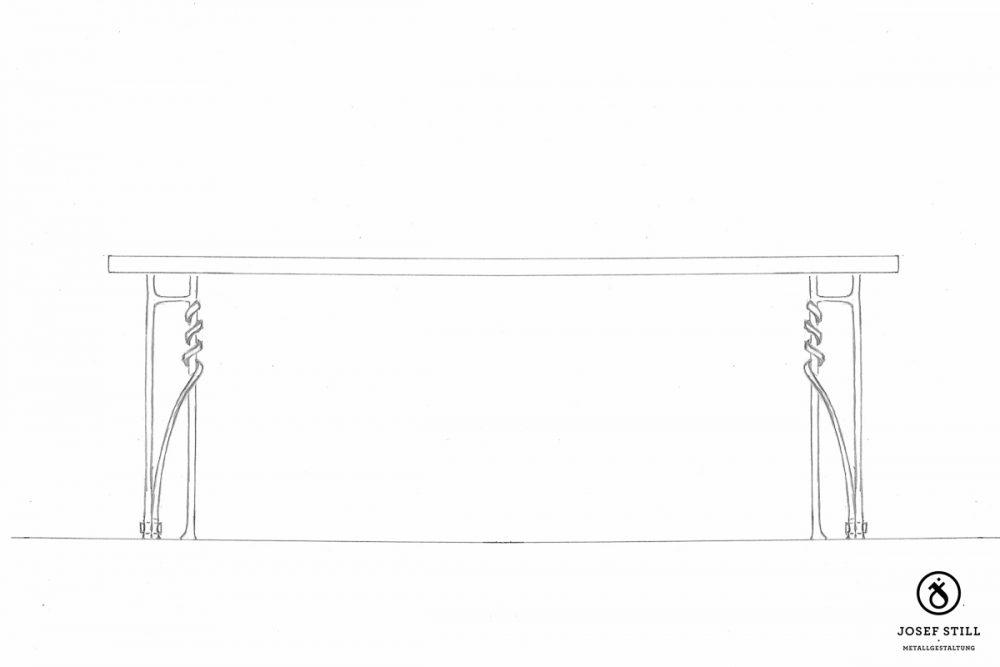 103_Skizze_Entwurf_Zeichnung_Kunstschmiede_Eisen