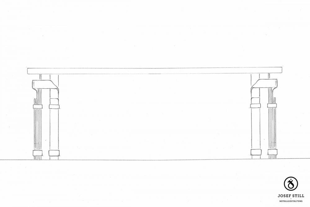 104_Skizze_Entwurf_Zeichnung_Kunstschmiede_Eisen