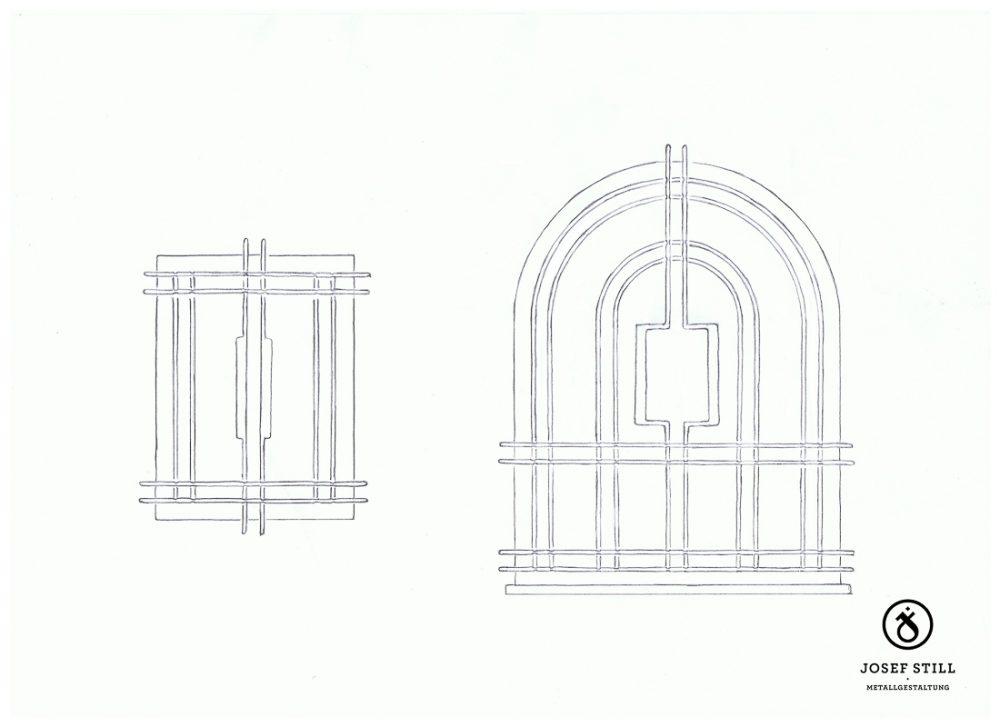 16_Skizze_Entwurf_Zeichnung_Kunstschmiede_Eisen