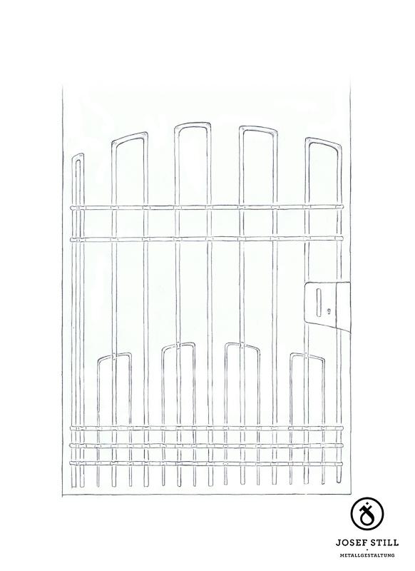 19_Skizze_Entwurf_Zeichnung_Kunstschmiede_Eisen