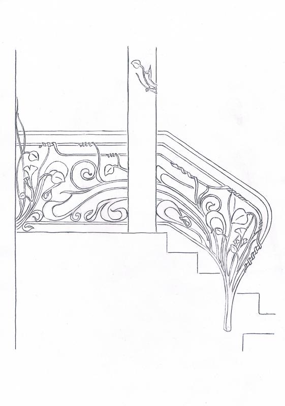 42_Skizze_Entwurf_Zeichnung_Kunstschmiede_Eisen
