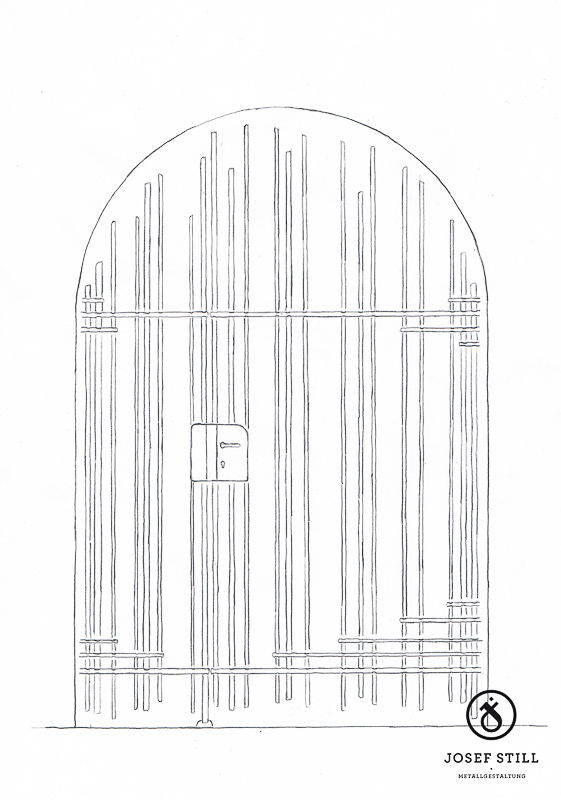 50_Skizze_Entwurf_Zeichnung_Kunstschmiede_Eisen