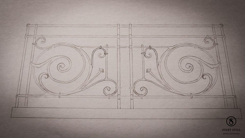 85_Skizze_Entwurf_Zeichnung_Kunstschmiede_Eisen