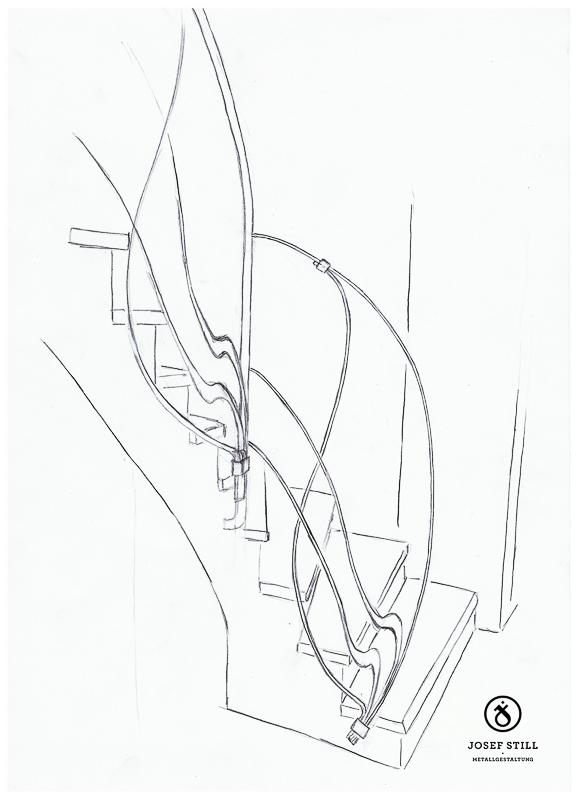 86_Skizze_Entwurf_Zeichnung_Kunstschmiede_Eisen
