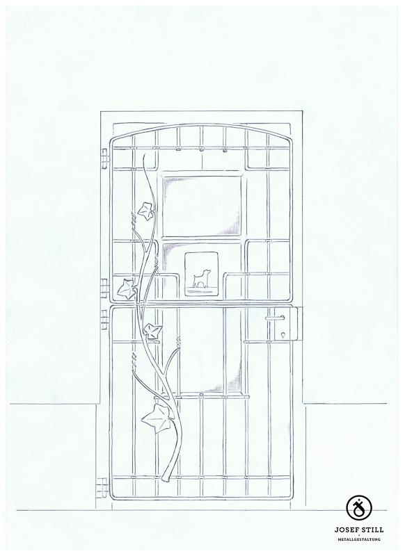 88_Skizze_Entwurf_Zeichnung_Kunstschmiede_Eisen